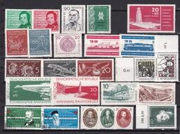 DDR - 1956/57 - Sammlung - Ungebr./Postfrisch/Gest. - Gebraucht