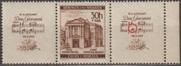 61/ Bohemia & Moravia; ** Nr. 68 - Border Gutter With Plate Error - Ongebruikt