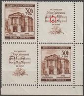 62/ Bohemia & Moravia; ** Nr. 68 - Corner 4-block With Plate Error - Ongebruikt