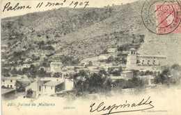 PALMA DE MALLORCA GENOVA  + Beau Timbre 10 Espana RV - Palma De Mallorca