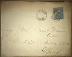 LSC De 1886 From Argentina To Paris - Luthier Chanat-Chanon - Briefe U. Dokumente