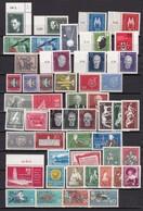 DDR - 1957/59 - Sammlung - Ungebr./Postfrisch - Ungebraucht