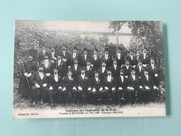 BÉTHUNE. — Confrérie Des Charitables De St-Eloi - Election 1909-1910 - Bethune