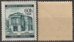 67/ Bohemia & Moravia; ** Nr. 69 - Brownish Gum - Ongebruikt