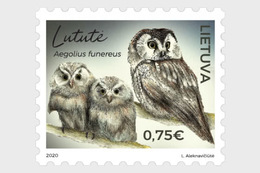 Litouwen / Lithuania - Postfris / MNH - Vogels, Uilen 2020 - Litauen