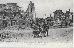 Guerre 1914 - Albert - Somme - Blessés Anglais - Guerre 1914-18