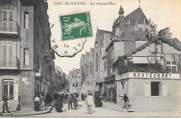 53     Mayenne     La Grande Rue - Mayenne