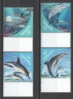 W125 2001 VANUATU FISH & MARINE LIFE DOLPHINS HONG KONG #1125-8 1SET MNH - Dolfijnen
