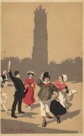 Fantaisie Illustrateur PARIS  TOUR St JACQUES  RV - Arrondissement: 04