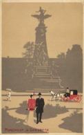 Fantaisie Illustrateur PARIS  MONUMENT DE GAMBETTA  RV - Arrondissement: 20
