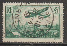 """FRANCE : Poste Aérienne N° 8 Oblitéré """"beau TàD 1938"""" - PRIX : 1,00 € - - Poste Aérienne"""