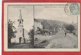 CPA: Haute-Marne - Grenant - Grande Rue Et Chapelle Saint Germain - France