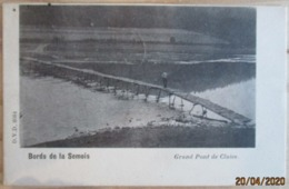 VRESSE  -  SUR  -  SEMOIS      GRAND    PONT  DE    CLAIES - Vresse-sur-Semois