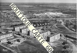 71 - MACON  -VUE AERIENNE - NOUVELLES RESIDENCES DE BIOUX AU FOND MANUFACTURE D'ALLUMETTES PORT FLUVIAL - Macon