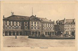 CPA - METZ - Theaterplatz - Metz
