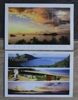 CPM  MAYOTTE  NEUVES  TES BON ETAT  GF VOIR SCANS - Mayotte