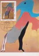 Carte  Maximum  1er  Jour   FRANCE   Oeuvre  De   ARP    STRASBOURG   1986 - 1980-89