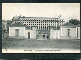 CPA - RENNES - Caserne Saint Georges, Animé - Rennes