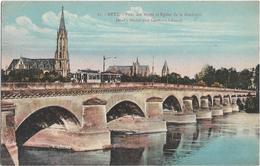 CPA - METZ - Pont Des Morts Et église De La Garnison - Metz
