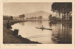 CPA  - METZ - La Moselle Et Le Mt St Quentin - Metz