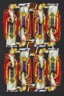 CHROMOS DECOUPEES * SAINT NICOLAS * SINTERKLAAS * MADE IN ENGLAND N° 928 * 24.5 X 15.5 CM - After 1965