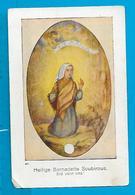 Relic   Reliquia    St. Bernadette - Devotieprenten