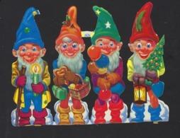 CHROMOS DECOUPEES * DWARFS * NAINS * GNOMES * KABOUTERS * 15 X 12 CM - Motiv 'Weihnachten'