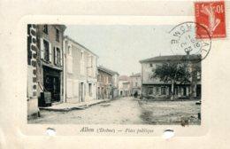 CPA - ALBON - PLACE PUBLIQUE - France