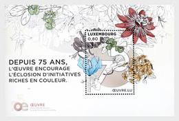 Luxemburg / Luxembourg - Postfris / MNH - Sheet 75 Jaar Oeuvreprijs 2019 - Ongebruikt