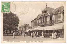 Le Crotoy - Le Café Du Port - La Potinière - Animée - Vélo - Bières Le Coq Blanc - Circulé - Combier - Mr RAISON - Le Crotoy