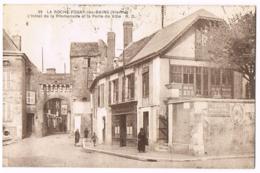 La Roche-Posay-les-Bains - L'Hôtel De La Promenade Et La Porte De Ville  - Animée - 39 - Circulé 1929 - Plaque Casino - La Roche Posay