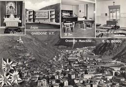 GARDONE VAL TROMPIA-BRESCIA-CARTOLINA VERA FOTOGRAFIA -NON VIAGGIATA-ANNO 1955-1960 - Brescia
