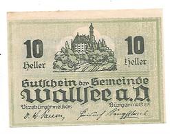 **Austria Notgeld Wallsee 10 Heller  1137/1a - Austria