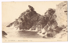 La Ciotat - Anse De Figuerolles - LL - 2 - Selecta - Lévy Fils - Circulé 1922 - Mr QUEVREMONT - La Ciotat