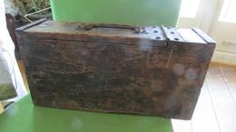 Relic WW1 Wood Machinegun Ammo Box - 1939-45