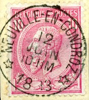 Nr. 46 = Relais NEUVILLE-EN-CONDROZ   RR ! - 1884-1891 Leopold II