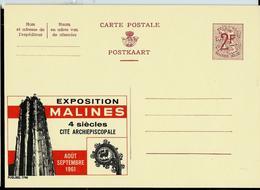 Publibel Neuve N° 1798  ( Exposition MALINES  En 1961) - Enteros Postales
