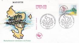 FRANCE 1991 FDC MAYOTTE YT 2735 - 1990-1999