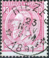 Nr. 46 = Relais RIEZES  R ! - 1884-1891 Leopold II