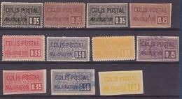 COLIS POSTAUX YT15/16/17/18/20/21/22/24**  25* 26/27OBL  COTE YT 101E - Colis Postaux