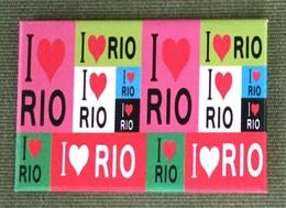 I Love Rio Frigde Magnet, From Brazil - Tourisme