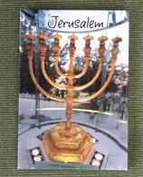 Menora Jerusalem Frigde Magnet, Israel - Tourisme