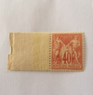 FRANCE N° 70 SAGE PAIX ET COMMERCE 40 CT ROUGE-ORANGE XX TB - 1876-1878 Sage (Type I)