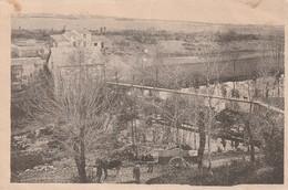 LA ROMAGNE La Moine Au Moulin-Bouchot (attelage Charrette Passerelle ) Timbre 1949 - Andere Gemeenten