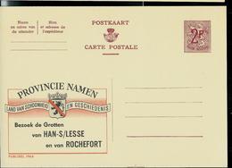 Publibel Neuve N° 1964  ( Provincie Namen : Grotten Han/ Lesse Et Rochefort) - Enteros Postales