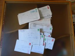 Lot De Probablement 150 Lettres Avec Griffe De Fausse Direction Periode Briat, Luquet , Poids Environ 650g - Postmark Collection (Covers)