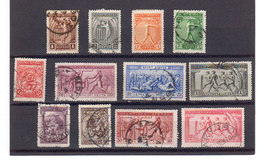 Grece 1906 Yvert 165 / 176 Obliteres - 1906 Second Olympic Games