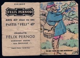 Publicité école Félix Pernod Pastis Imageries Réunies Jarville Nancy Jeu + Table Multiplication Rare Voir Explications - Picture Cards