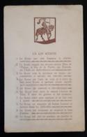 La Loi Scoute - Décrets & Lois