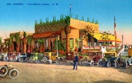 CPA -  CANNES - PALM-BEACH CASINO - Cannes